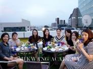 상해 위리아미용학교 교장님과 학생분들께서 한국 미광 뷰티아카데미 를  방문 하셨습니다 ~